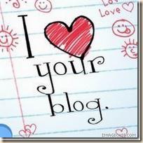 Iloveyourblog-Award von Ramona